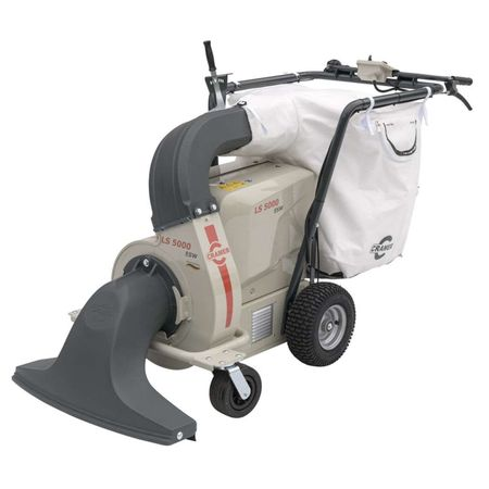 Аккумуляторный колесный садовый пылесос Cramer LS 5000 E SW Самоходный