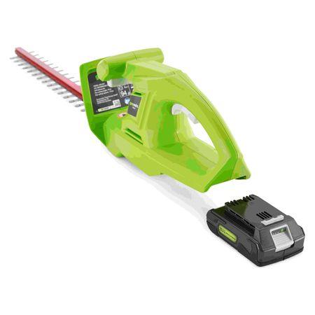 Кусторез G24HT 24 V (с аккумулятором 2 А*ч и зарядным устройством)