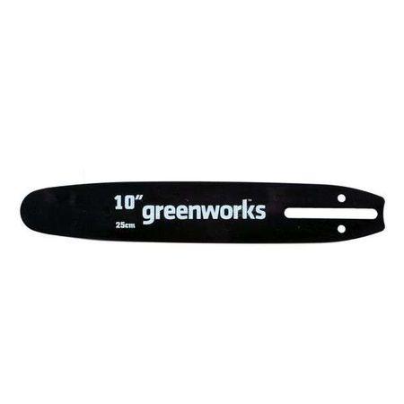 Шина для цепной пилы 24V 25 см Greenworks 29577