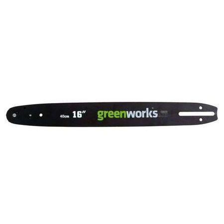 Шина для цепной пилы 40V 40 см Greenworks 29757