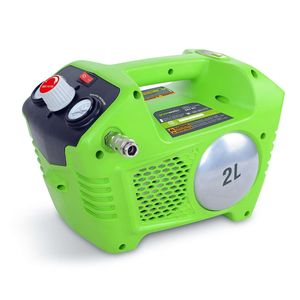 Компрессор воздушный G24AC 24 V (без аккумуляторной батареи и зарядного устройства)