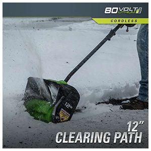 Снеголопата бесщеточная 80 V (без аккумуляторной батареи и зарядного устройства)