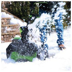 Снегоуборщик бесщеточный GD40SB G-MAX 40 V (без аккумуляторной батареи и зарядного устройства)