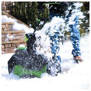 Снегоуборщик бесщеточный 51 см GD80STK2, 80V, 51 см, бесщеточный, с 1хАКБ 2 А.ч и ЗУ