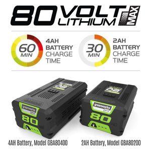 Триммер 41 см GD80BC 80 V (без аккумуляторной батареи и зарядного устройства)